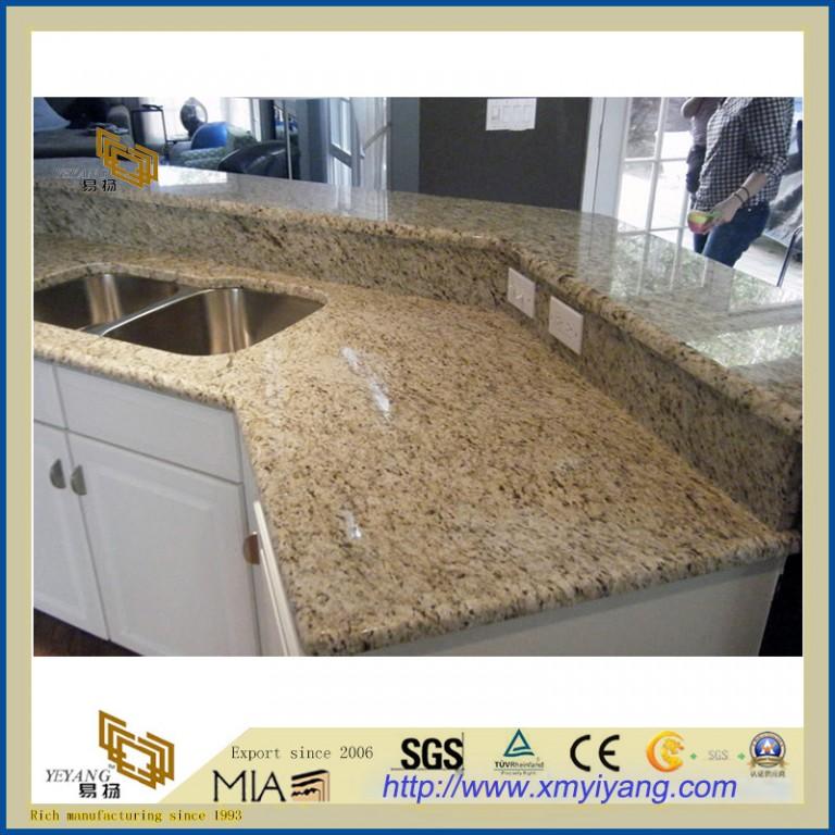 Giallo Ornamental Granite Yellow Granite For Kitchen ...